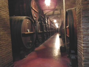 Casks at Bodeha Weinert